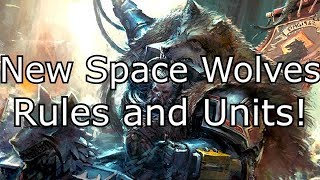 New Space Wolves Rules! **My first thoughts**