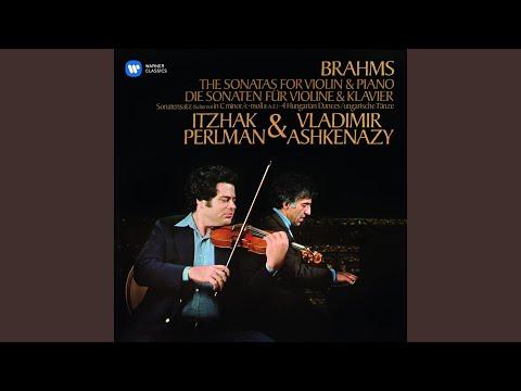 Violin Sonata, 'F-A-E': III. Scherzo in C Minor
