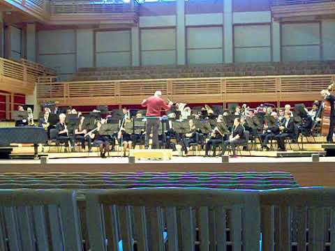 Keith Brion guest-conducts the SSU Symphonic Wind Ensemble