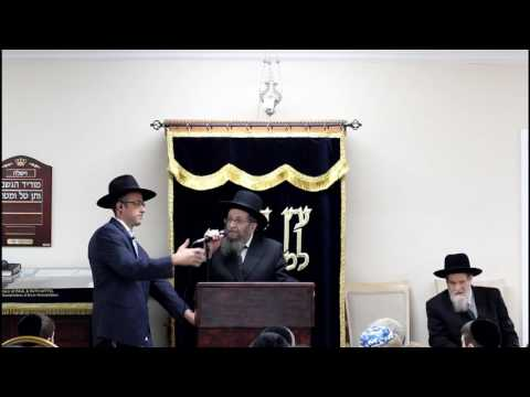 Torah Academy of Boca raton FL. HaRav Shmuel Kamenetsky and HaRav Akiva Grunblatt