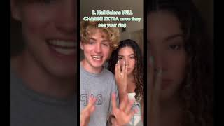 The 4 WORST Things About Being Engaged! | Andrea & Lewis #Shorts