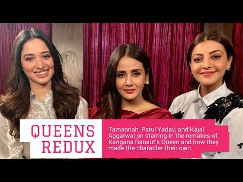 Tamannaah Bhatia, Parul Yadav & Kajal Aggarwal interview with Rajeev Masand on Queen remake Mp3