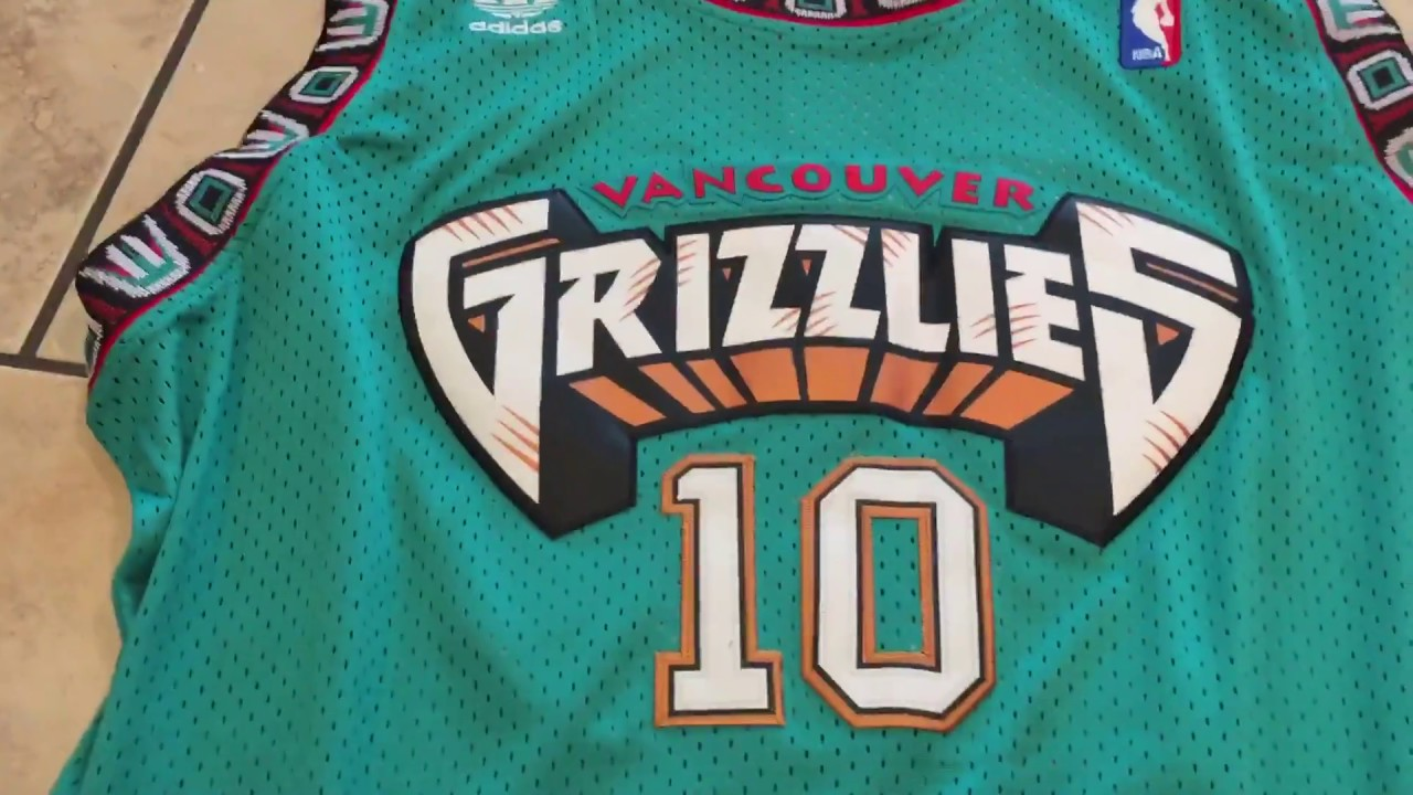 hot sale online 14ab6 2be01 Vancouver Grizzlies jersey review dhgate / aliexpress