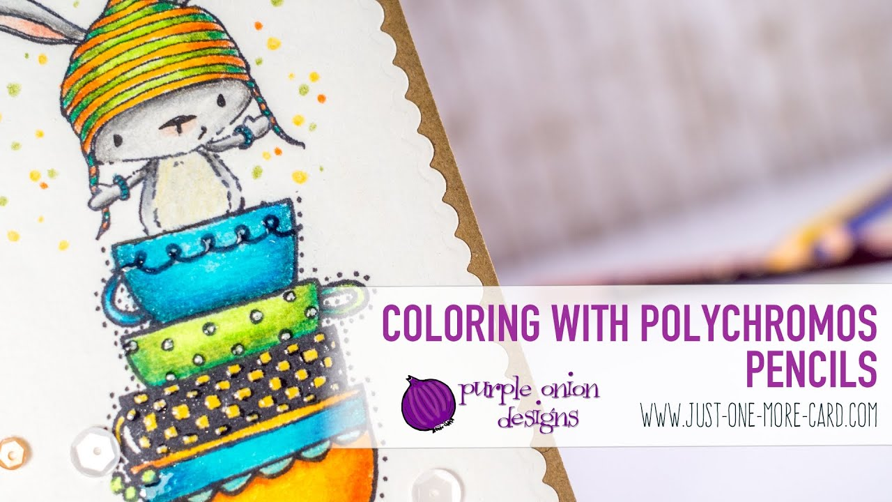 Coloring with Polychromos Pencils - YouTube