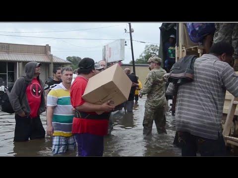 Baton Rouge, LA Flood Rescues