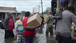 Baton Rouge, LA Flood Rescues