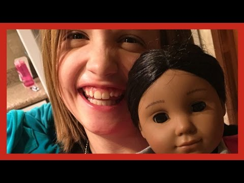 ADJUSTING TO LIFE WITH TYPE 1 DIABETES - American Girl Doll Diabetes Care Kit and lots of shots