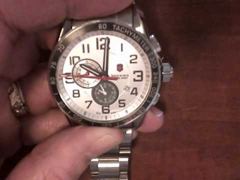 c6288932d68 Reset default second hand position on Swiss Army Chrono Classic XLS Watch.