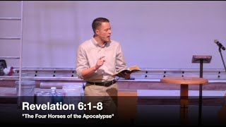 the four horses of the apocalypse revelation 61 8 2316 pastor jordan rogers