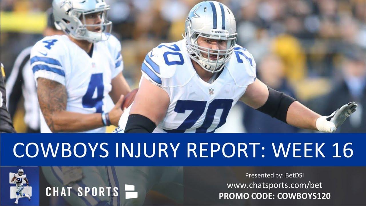 3b2b63dc9c7 Cowboys Injury Report: Latest on Zack Martin, David Irving, Tavon ...
