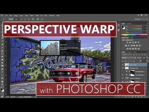 how to use puppet warp in photoshop cc