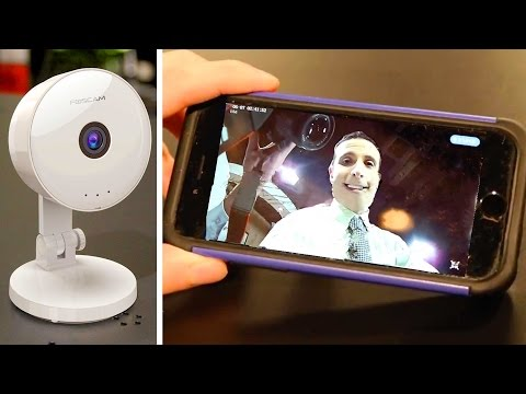 BEST IP WIFI SECURITY CAMERA under $40! - Monitor Your House from ANYWHERE