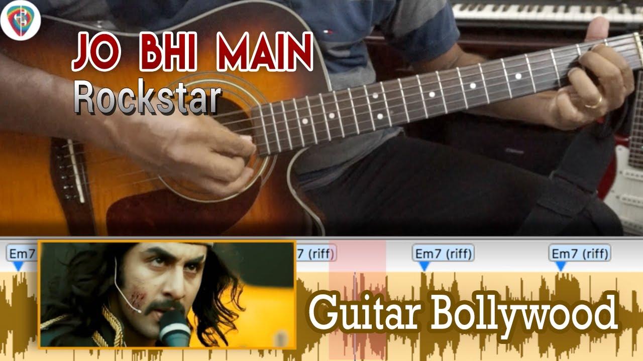 Learn2play jo bhi main rockstar chords guitar bollywood learn2play jo bhi main rockstar chords guitar bollywood lesson hexwebz Images
