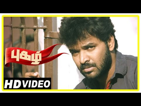 Pugazh Tamil Movie | Scenes | Marimuthu warns Jai Friends | Piraisoodan Died | Surabhi