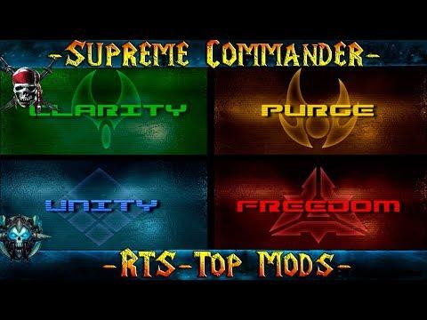 """Supreme Comander FA """"Обзор Всех Модов!"""" Варианты Развития!"""