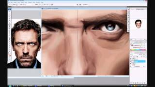 Dr. House Speed Painting