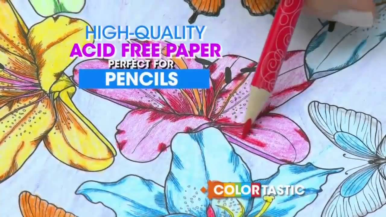 Colortastic Coloring Book Commercial
