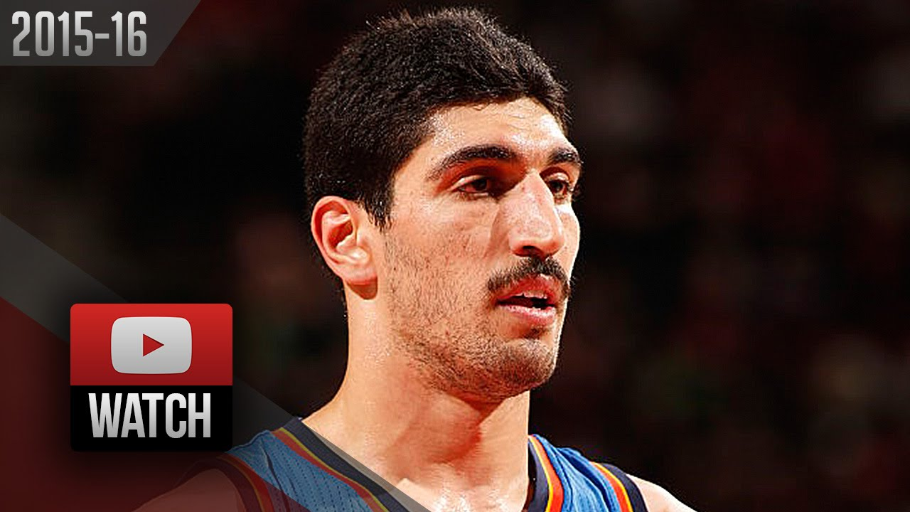 enes kanter full highlights at trail blazers  2016 04 06