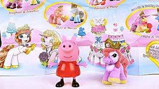 Свинка Пеппа получает подарок из набора Filly