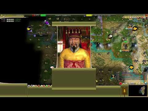 [CIV4BTS] Mongol Diety Standard Size Standard Speed Continents - 5