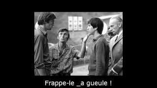 """Reconstituirea (1968) - L. Pintilie. """"TU, ASTA, PRINCIPIALUL"""" (scena baracii) (soustitre Francais)"""