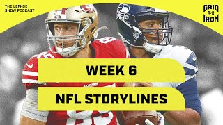 Who Is The Best Team in Each Division? Week 6 Storylines | The Lefkoe Show