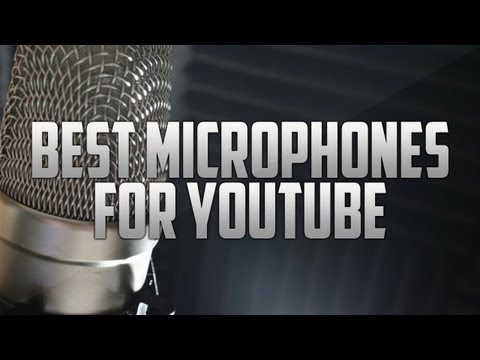 Best Microphones for Commentating 2014 Condensor Mics, Headsets, and Equipment)