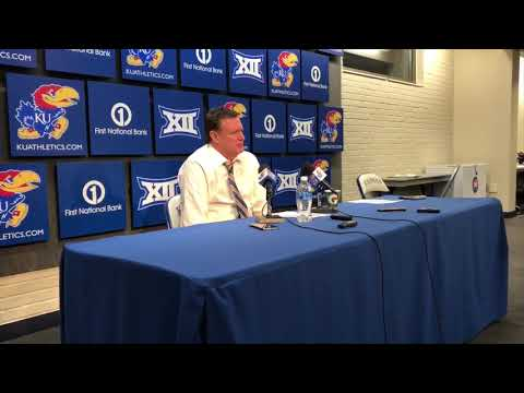 Bill Self discusses KU's 3-point shooting, Azubuike's technical, pregame phone call