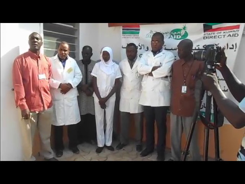 Direct Aid Gambia Africa Muslims Agency Speech at Sharab Medical Center