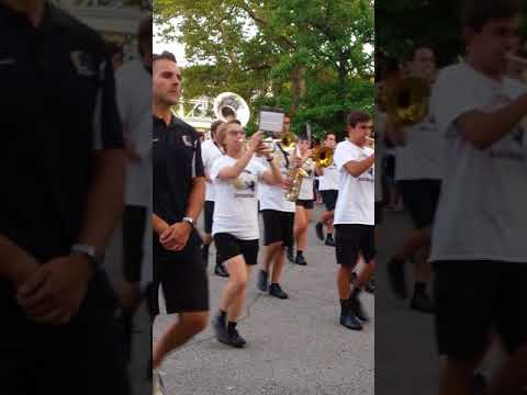Quaker Valley High School Marching Band August 2017 Kennywood
