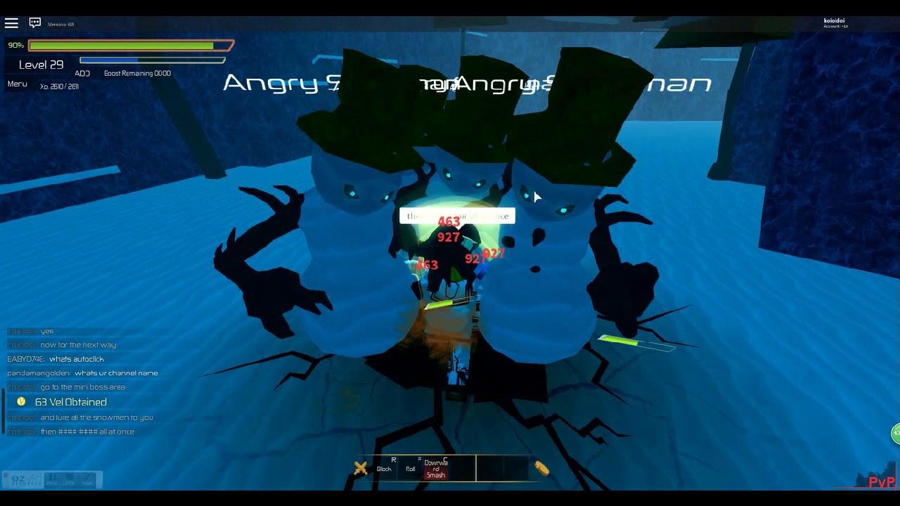 Roblox Swordburst 2 How To Farm Angry Snowmen On Floor 3 Youtube
