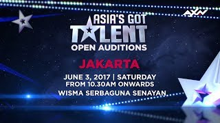 Asia's Got Talent Open Audition in Jakarta on June 3, 2017