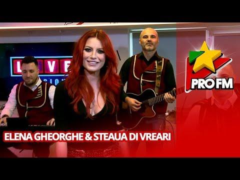 Elena Gheorghe - Un trandafir creste la firida mea (ft. Steaua di Vreari) | ProFM LIVE Session