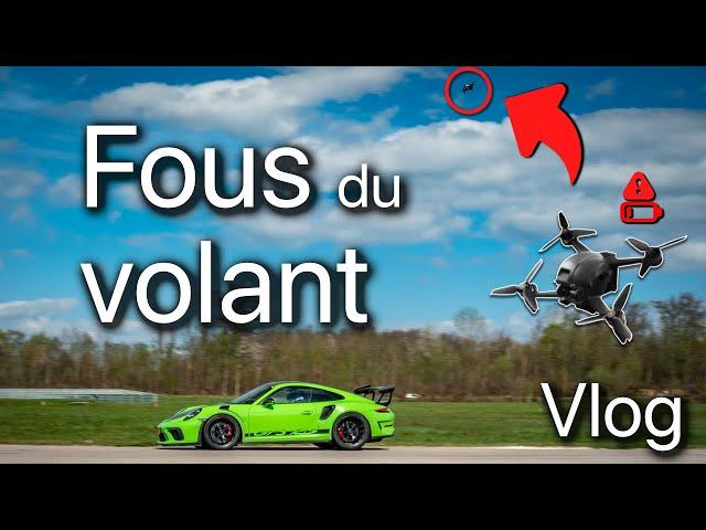 DJI FPV | Tests au circuit de Chenevières ! (4k)