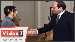 بالفيديو..الفتاة الإيزيدية :الرئيس السيسى طلب منى أن أعيش أنا وعائلتى بمصر وهذا شرف لى
