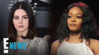 Lana Del Rey Threatens to Fight Azealia Banks | E! News