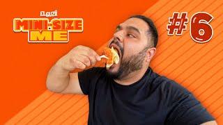 Fallé, rompí la dieta... | Día 6 | #MiniSizeMe | El Guzii
