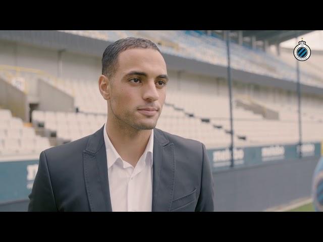 CLUB BRUGGE |  FIRST INTERVIEW SOFYAN AMRABAT AT CLUB BRUGGE  | 2018-2019