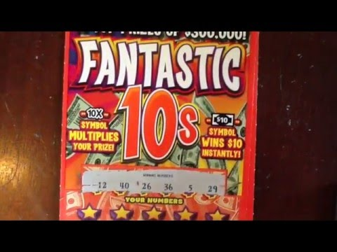 NEW: $10 Fantastic 10s - PA Lottery - Scratchers