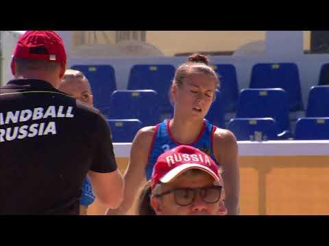 Лучшие моменты матча Россия - Дания пляжного Чемпионата мира в Казани