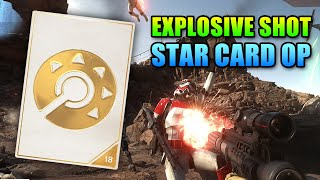 Star Wars Battlefront Explosive Shot Guide - Best Star Card?