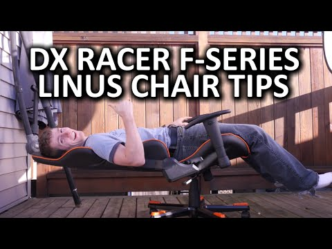 DX Racer FSeries Gaming Chair  YouTube