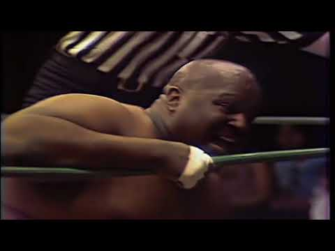Abdullah the Butcher with JJ Dillon vs. Sika (1970's)