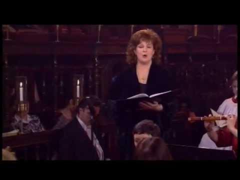 """Zerfliesse mein Herze"" from JS Bach: St Johns Passion, sung by Catherine Bott"