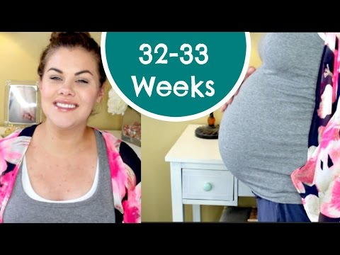 32 - 33 Weeks Pregnant - Nesting | ChristineGxoxo