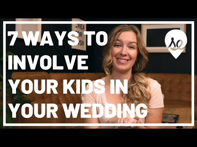 Top 7 Ways to Incorporate Your Kids Into Your Wedding