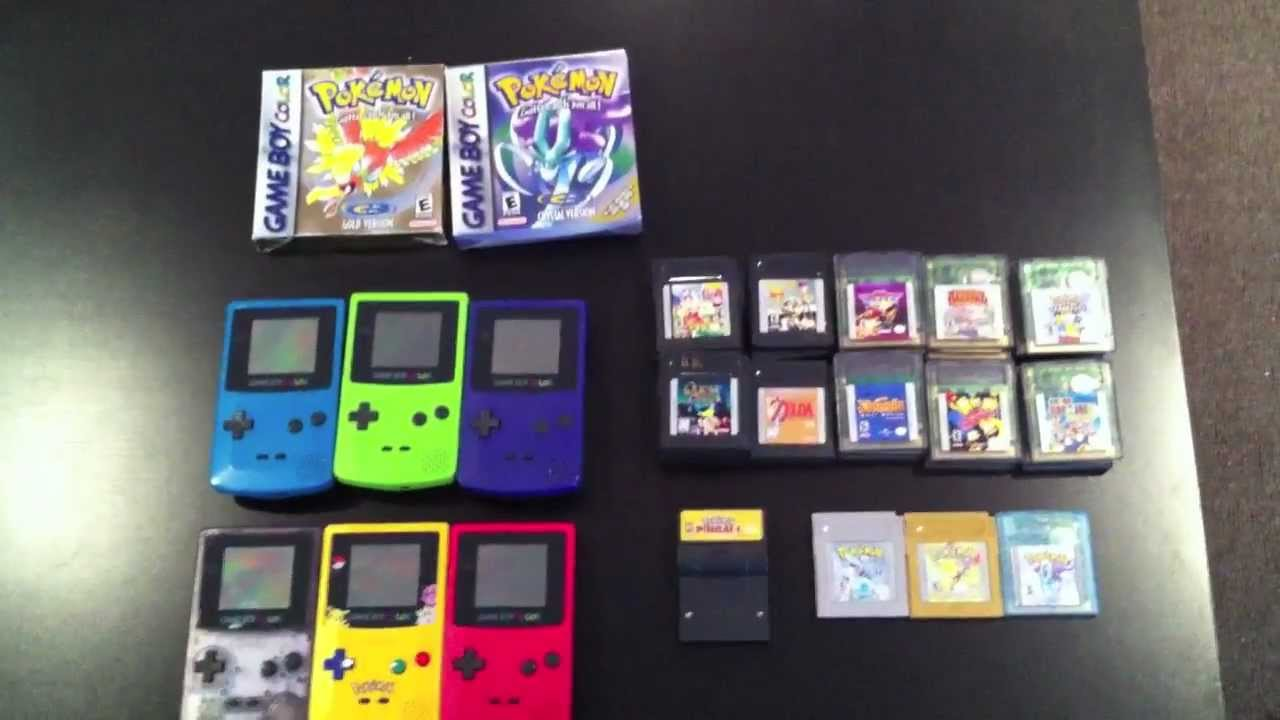 Game Collection 2 Gameboy Color YouTube