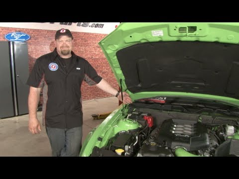 Mustang Cabin Air Filter 2005-2014 Installation - YouTube