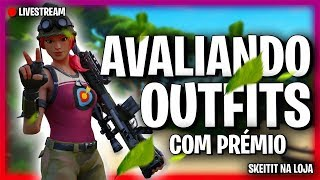 🔴 FORTNITE-EVALUATING OUTFITS WITH A V-BUCKS PRIZE!! IKONIK DRAW!! SKEIAT IN STORE