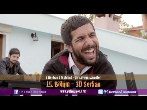 1 Kezban 1 Mahmut - 15. Bölüm 3D Serkan (En sevilen sahneler)